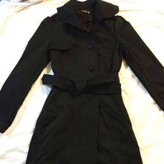 Black Bluejuice Trench Coat