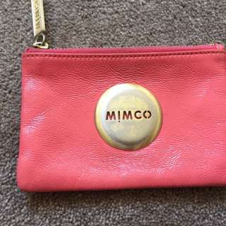Mimco small wallet pink!