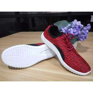 Sneakers Wanita Import Korea - Red