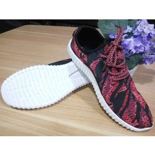 Sneakers Wanita Import Korea - Wine