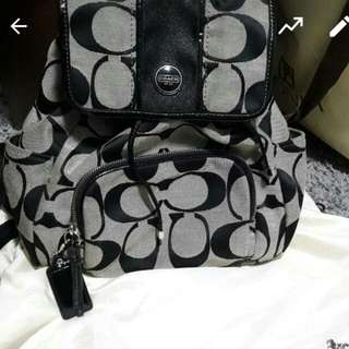 coach signature backpack *fast deal*