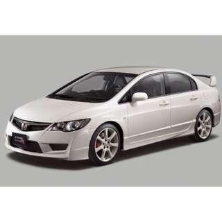 Buying Honda Civic 2.0 Car Body