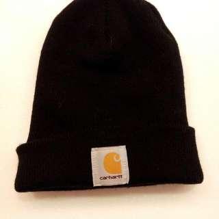 Carrhart黑色毛帽