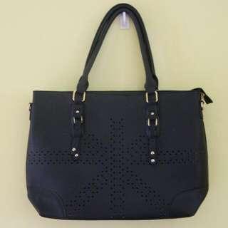 Large Black Two Way Bag