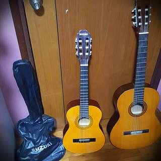 Small Suzuki Guitar With Case