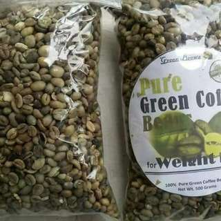 Authentic Green Coffee Bean And Green Coffee Mix