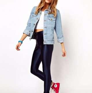 American apparel disco pants size XS navy