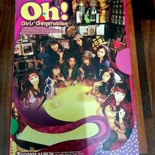 SNSD OH! 2nd Album