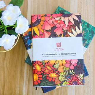 Coloring Book X Planner