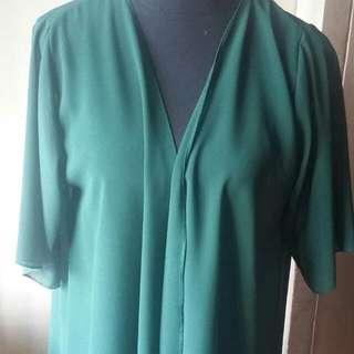 Plain Green Kimono