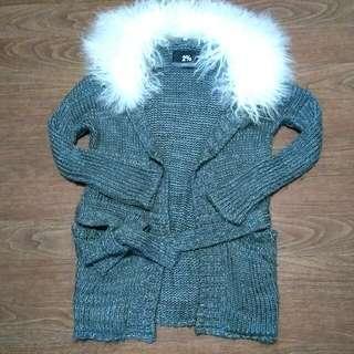 2%毛領大衣