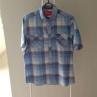 Top Man Shirt Blue