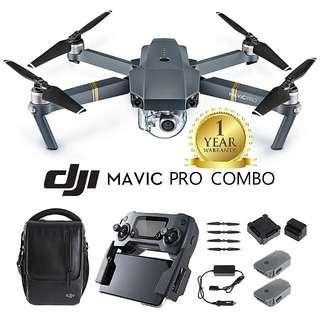 DJI Mavic Pro FlyMore Combo Set! - Ready Stock! One Year Local DJI Warranty! Good Reviews!