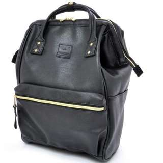 100% Authentic Leather Anello Backpack (Large size) - Japan