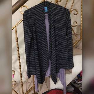 Grey Set Cardigan