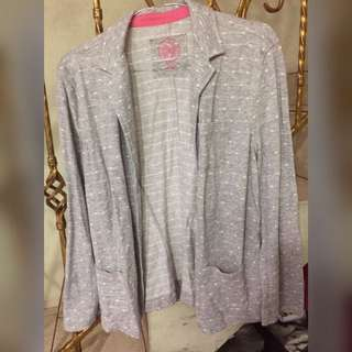 Grey Dotty Shirt