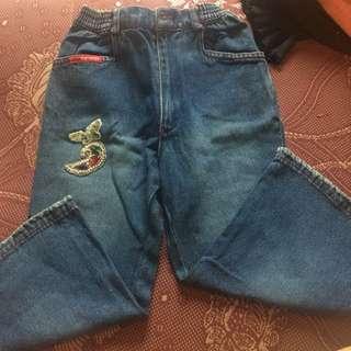 Nevada denim/jeans kulot