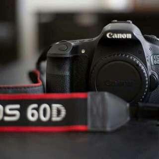 Canon Eos 60D With 18-55 Kit Lens 👌