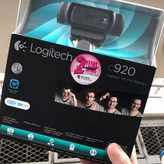 Logitech C920 HD Pro Webcam w Carl Zeiss Lens