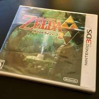 3DS The Legend of Zelda: A Link Between Worlds 薩爾達傳說:眾神的三角神力2(日版)