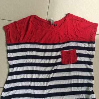 Stripe Tshirt Cotton on
