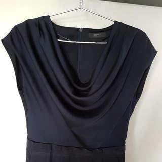 Preloved Esprit Navy Dress