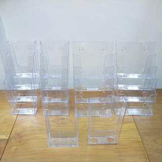 Shop Closure : Assorted B5 And Pamphlet Display Rack