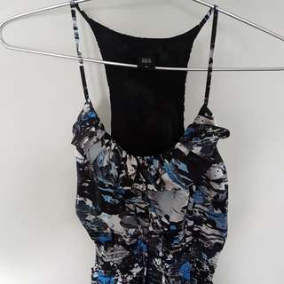 Gg5 Abstract Print Dress Size M