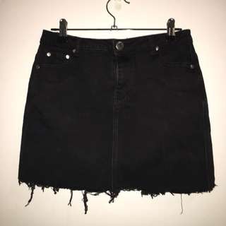 Ally Denim Skirt