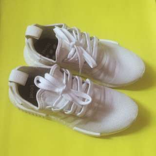 Adidas NMD R-1 Triple White