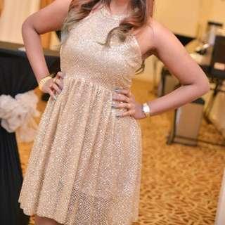 Gold Stone DRESS