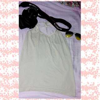 Backless Top (Light Gold)