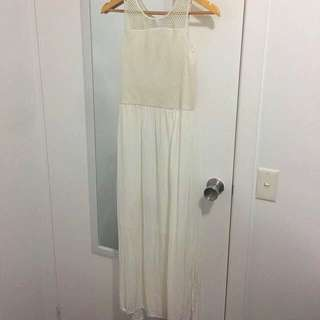 White Witchery Maxi Dress