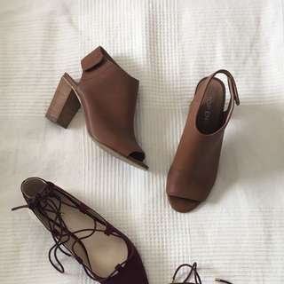 Top End Leather Ankle Boots Size 7