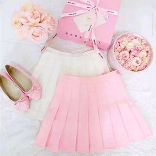 FREE POSTAGE Pink/White Plaid Tennis Skirt