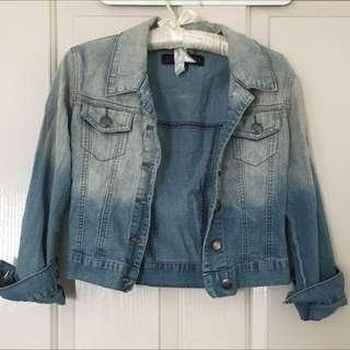 Boutique Denim Jacket Size 8