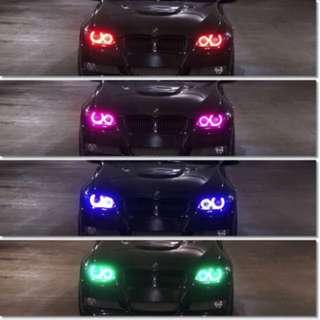 Super Bright 12W CREE Chips High Power LED RGBW Wifi Led Angel Eye Bulbs For BMW E60 E61
