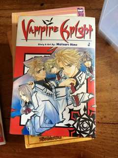 MANGA; Vampire Knight (vol. 3)