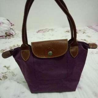 Longchamp Preloved Purple Small size