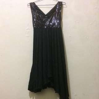 Mini Dress Bling Black Forever 21