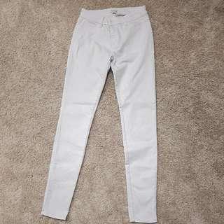 Witchery size 9 stretch white jean