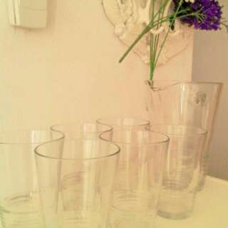 IKEA pitcher Set (Made In Italy)