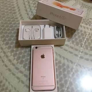 Iphone 6s 16G rosegold