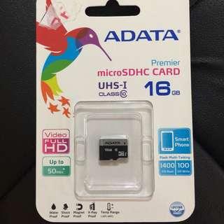ADATA 16 gb MICRO SD
