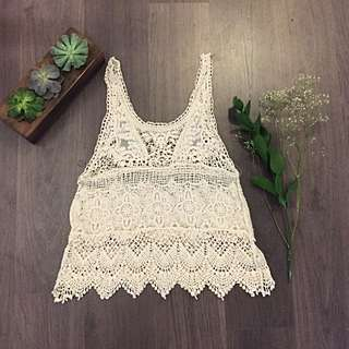 Pretty Coachella Lace Top
