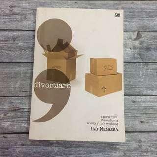 Novel Bekas Ika Natassa Divortiare