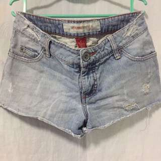 Mossimo Ripped Maong Short