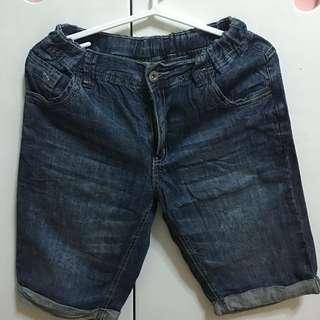 Bossini Kids Soft Maong Shorts