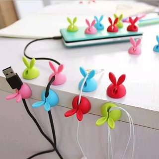 FREE POSTAGE Bunny Cable Holder