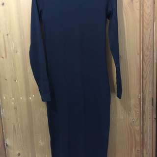 HnM Divide Black Dress